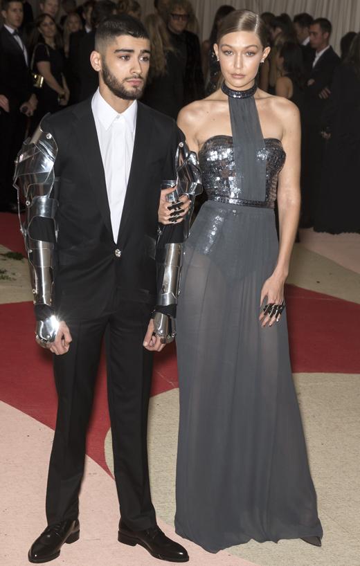 Зейн Малик (Zayn Malik) и Джиджи Хадид (Gigi Hadid).