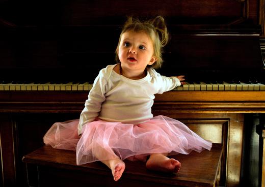 Игра на рояле