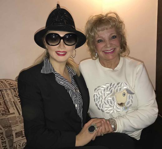 Екатерина Шаврина и Елена Ленина