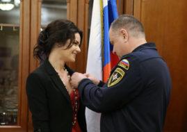 Анна Пескова МЧС