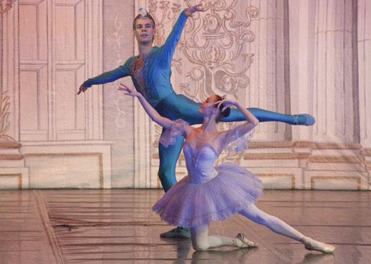 Грим артистов балета