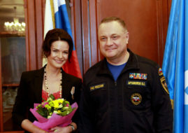 Анна Пескова и Владимир Артамонов
