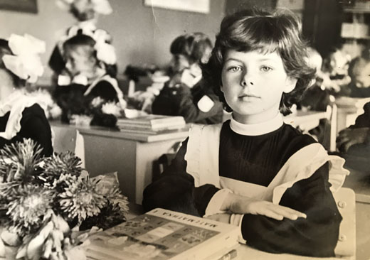 Лора Резникова детское фото