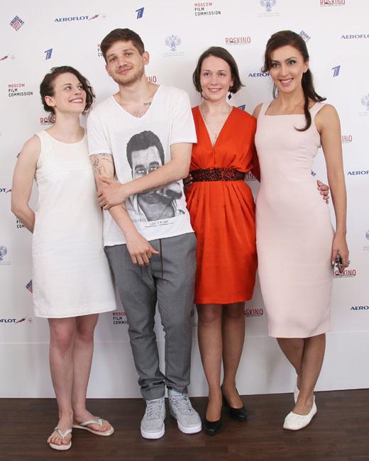 Кантемир Балагов, Екатерина Мцитуридзе и гости павильона «Роскино»