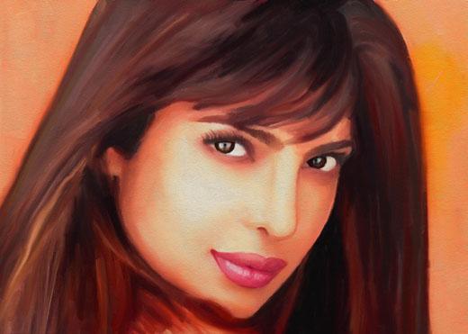 Индийская модель Приянка Чопра