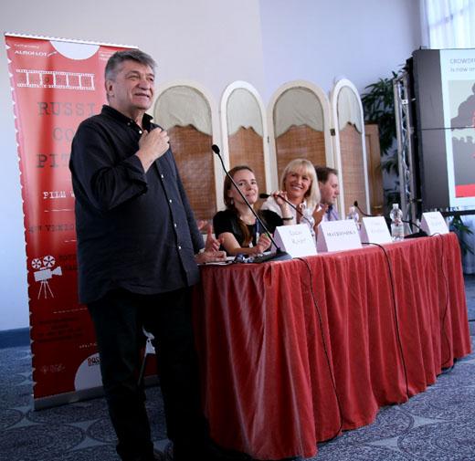 Александр Сокуров на презентации «Роскино»