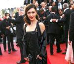 Екатерина Мцитуридзе в черном платье