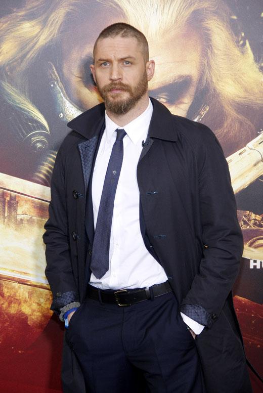 Том Харди с бородой