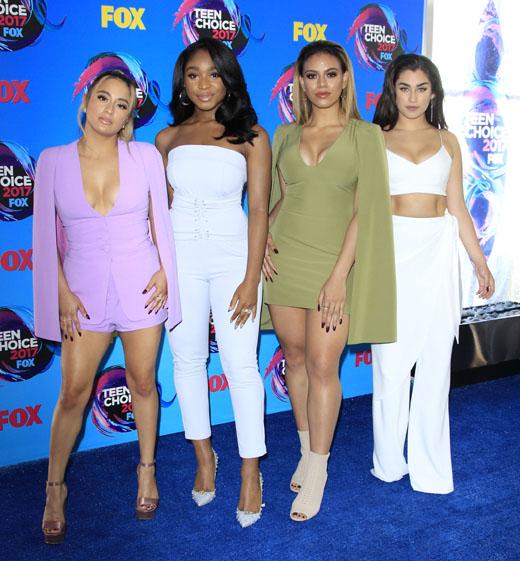 Участницы группы Fifth Harmony
