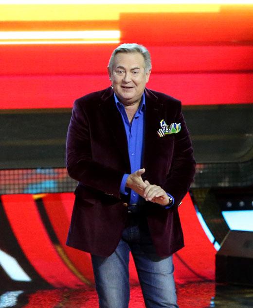 Телеведущий Юрий Стоянов
