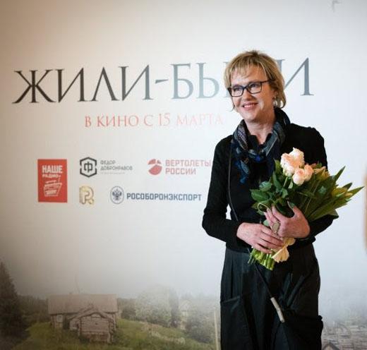 Ирина Розанова на премьере комедии