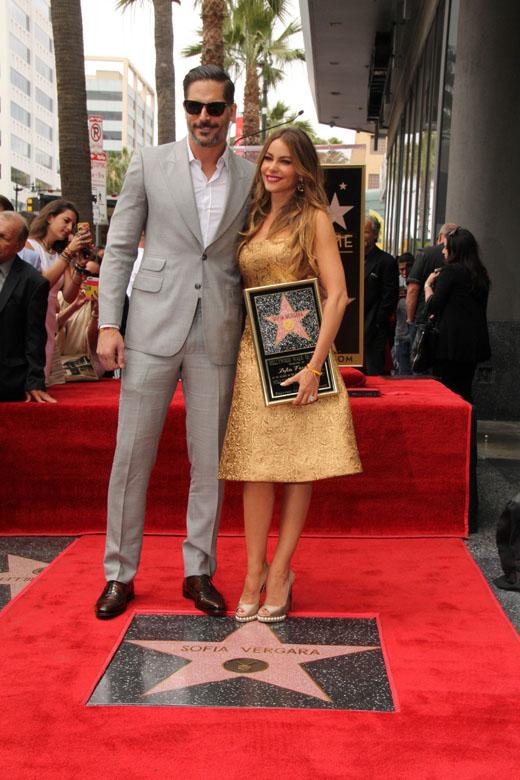 София Вергара с мужем Джо Манганьелло