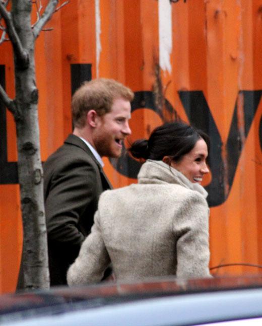 Принц Гарри (Prince Harry) и Меган Маркл (Meghan Markle)