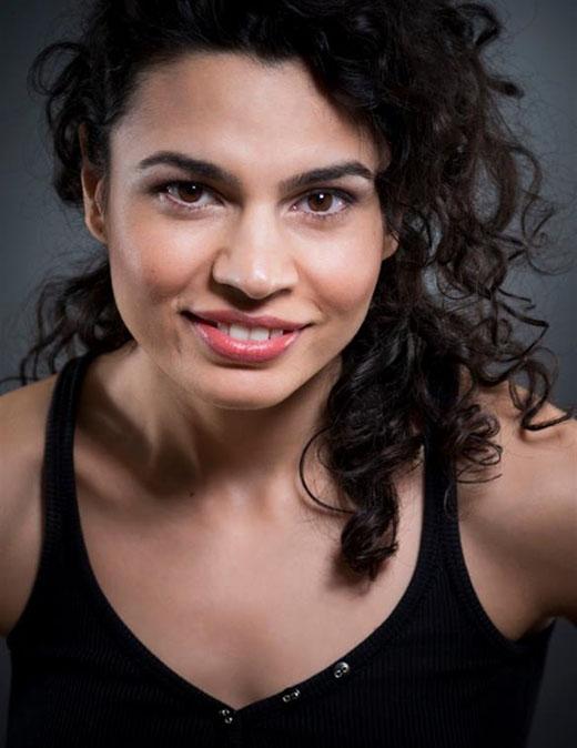 Румынская актриса Алина Сербан