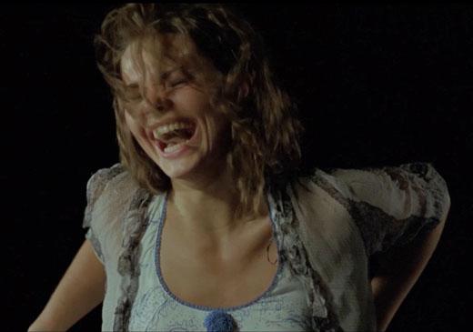Елизавета Боярская на съемках фильма