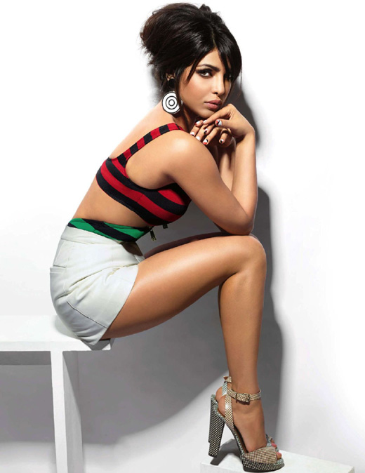 Приянка Чопра (Priyanka Chopra) на фотосессии журнала Vogue