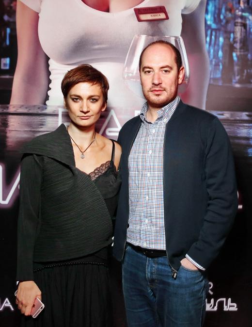 Продюсер Армен Айрапетян и актриса Ирина Вилкова
