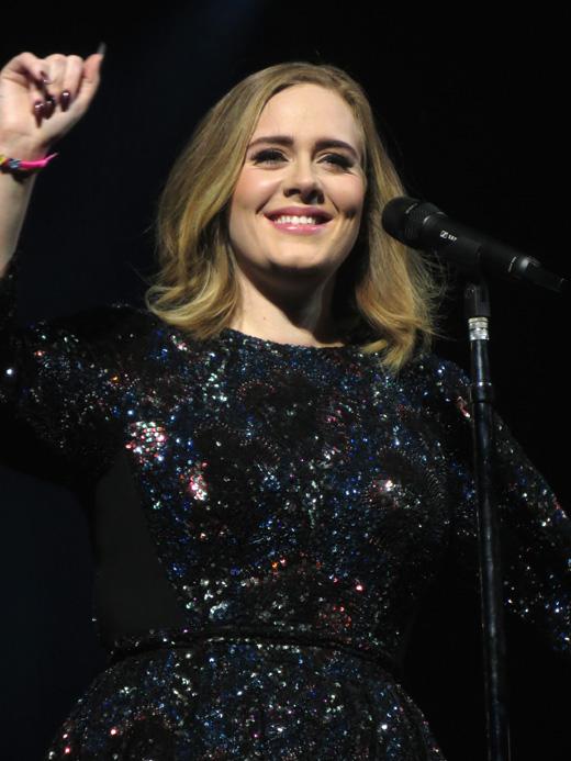 Британская певица Адель (Adele)