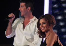 Саймон Коуэлл (Simon Cowell) и Шерил Коул (Cheryl Cole) / © Allie Martin / flickr