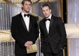Крис Хемсворт (Chris Hemsworth) и Крис Эванс (Chris Evans) / © Paul Drinkwater / NBC via Getty Images