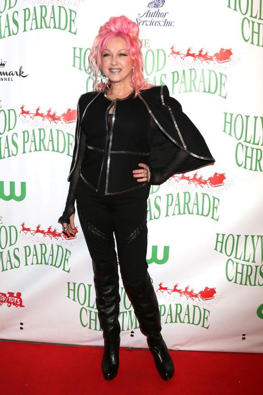 Певица Синди Лопер