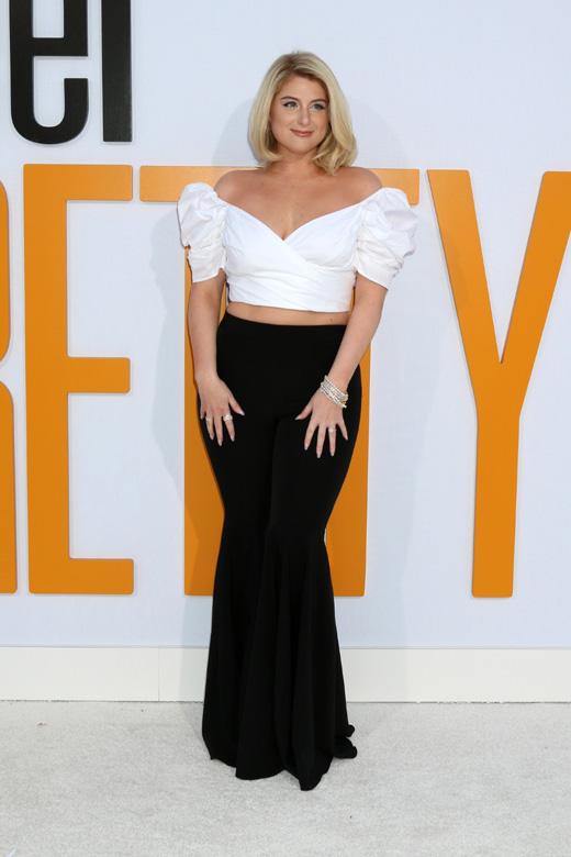 Британская поп-звезда Меган Трейнор