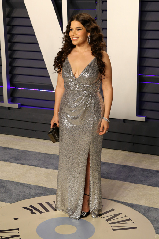 Актриса Америка Феррера на вечеринке Оскара