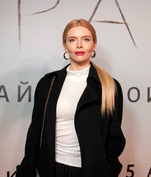 Актриса Анна Чурина