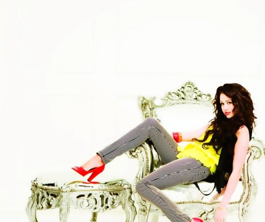 Американская поп-звезда Майли Сайрус