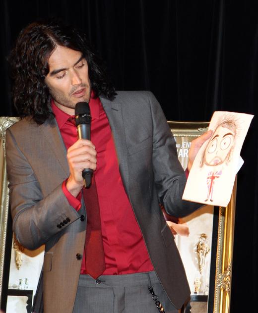 Британский комик Рассел Брэнд