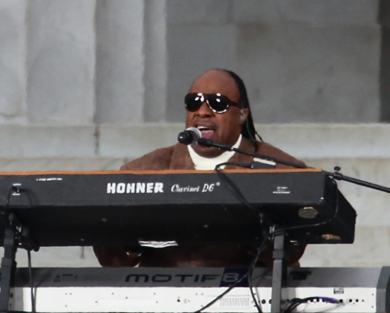 Стиви Уандер (Stevie Wonder) / © Steve Jurvetson / flickr