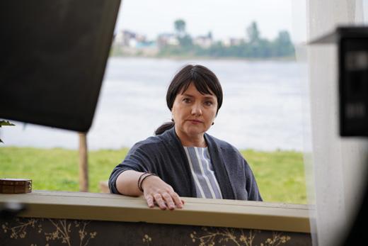 Инга Оболдина снимается в кино