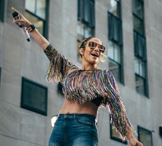 Звезда хит-парадов Дженнифер Лопес