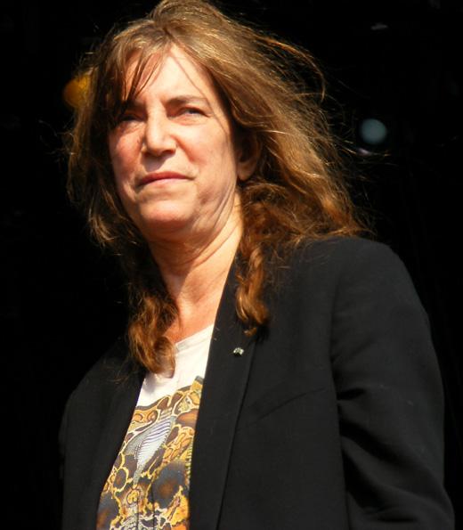 Крестная мама панк-рока Патти Смит